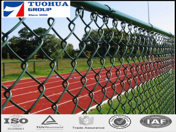 Hot Sell PVC Coated Diamond Wire Mesh,Chainlink Mesh