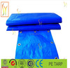 truck cover and camping tent fabric material colored plastic pe tarpa