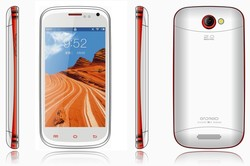 4.0 inch android 4.2 dual sim cheapest gps mobile phone 55usd
