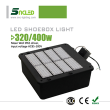 Outdoor basket ball court lighting led shoe box light, IP65 led shoebox street lights, 2500w incandescent led replacement