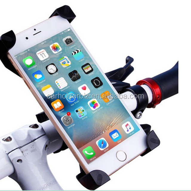 2016 Bike Mount, Universal Bicycle Holder for iPhone 6 6S 6 Plus 5S 5C 4S,Samsung Galaxy S7 S6 S5 S4 Note 3 4 5,Nexus 5 6p,