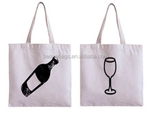 Reusable Shopping Tote Grocery Wine Themed Gifts Wine Bags