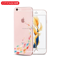 city&case waterproof cellphone silicone cover with oem for iPhone6 6s