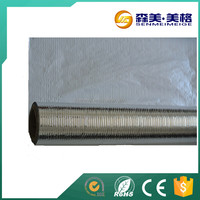 Fireproof aluminium foil in large roll construction material