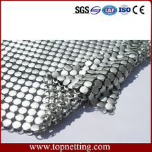 Decorative wire mesh/Metal coil drapery/metal cloth drapery