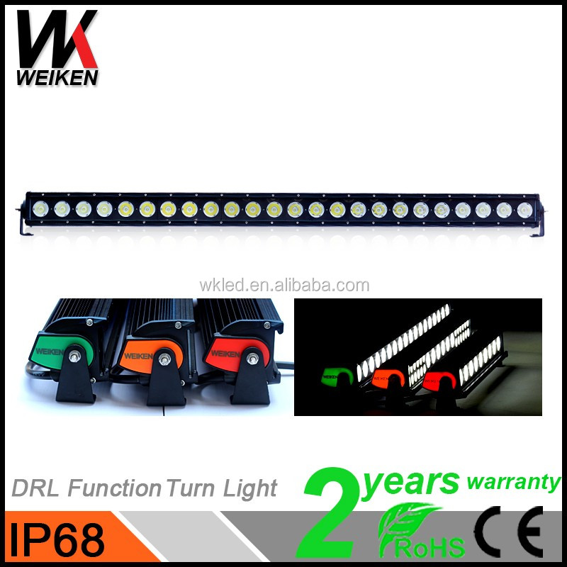 High Quality Wholesale 240W 40Inch Single Row Crees 10w LED Headlight Auto 4x4 Truck Led Light Bar