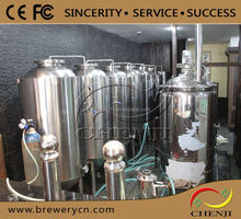 the beer machine mixes,50l-6000l Jacketed Beer Fermentation Tanks for sale