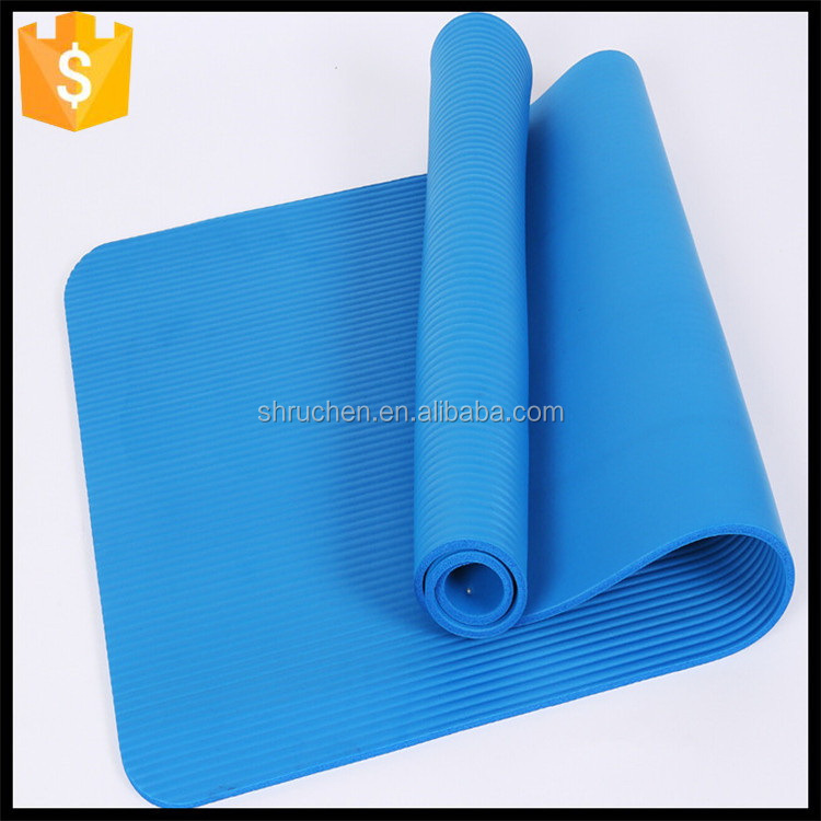 Factory direct fashionable best eco friendly nbr yoga mat manufacturer