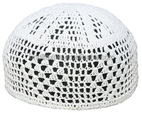 Manufacturers selling handmade Muslim white hat