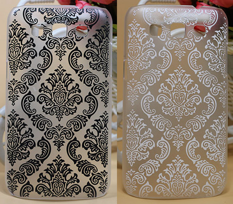 New Pattern Painting Vintage Paisley Flower Hard PC phone case cover For Samsung Galaxy Win i8552 8552 GT i8550 case Bags