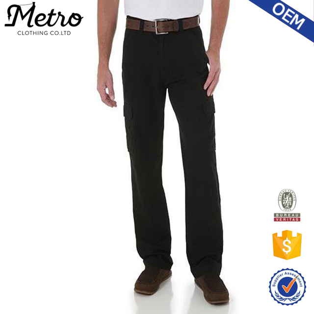 Custom Loose Fit Baggy Cargo Pants Men