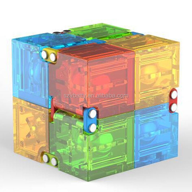 Wholesale new light up fidget cube led infinity cube