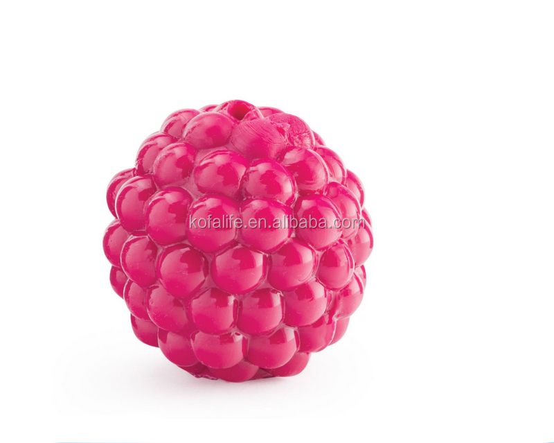 pink small rubber ball for dogs toy perfect chewing bouncy