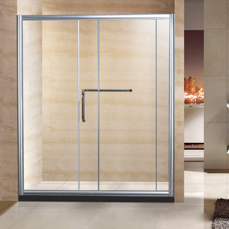 Cheap aluminium bathroom doors shower screens D08