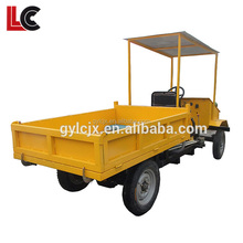 Heavy loading capacity strong climbing ability automatic dump motorcycle