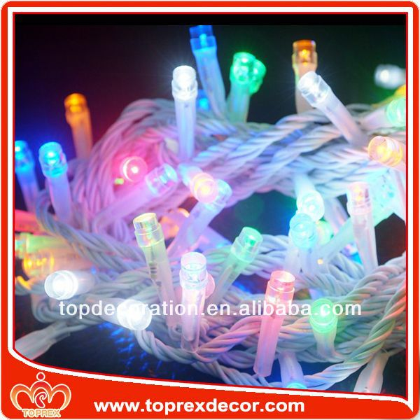 Connectable mini china made led string light chain