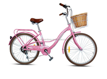 24-inch women's variable speed sport lady student city bicycle/manufacturers supply wholesale city bicycle