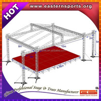 Aluminum Stage With Light Truss Roof