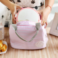 Hot Sale Insulated Picnic Cooler Bag Lunch Bags Pure Color Thermal lunch Bags for Food