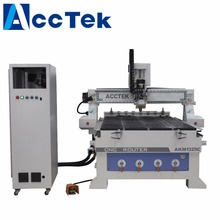 ATC function 3 spindles wood working cnc router machine for wood funiture