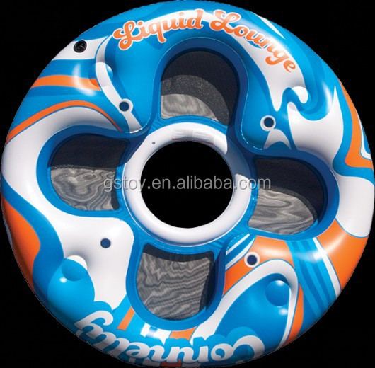 high quality 4 person inflate island float
