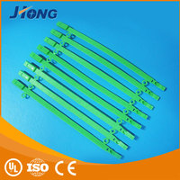 Green UL Approved Uvioresistant Nylon Cable Tie