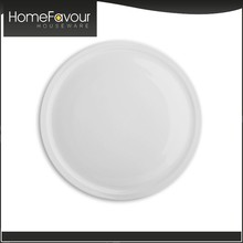 Onsite Checked Factory Italy Design Hotelware White Antique Porcelain Plates
