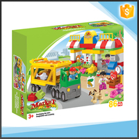 86 pcs supermarket happy kid toy for promotion gifts