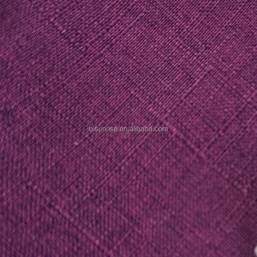 bright dyeing 100 polyester linen sofa fabrics, china products online shop alibaba
