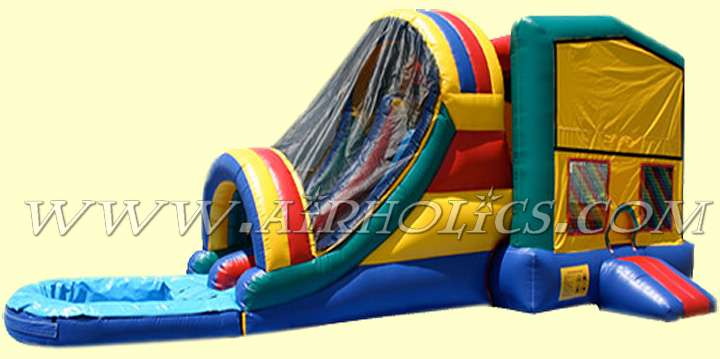 Hot selling PVC inflatable combo,inflatable jumper bouncer combo A3008