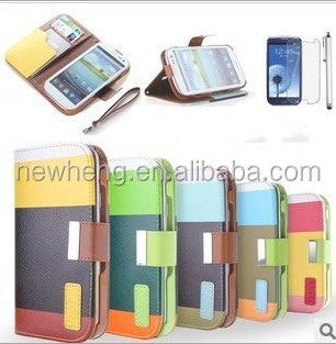 Hot Sell Mobile Phone Case for Samsung S3 Flip Cover