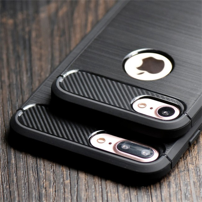 Newest Environmental Carbon Fiber Soft TPU Case For iPhone 6/7, For iPhone 7 Carbon Fiber Case