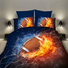 Boy Kids Sports Football Baseball Quilt Duvet Cover Bedding 3d Print Duvet Cover Pillowcase 3pcs Bedding <strong>Set</strong>