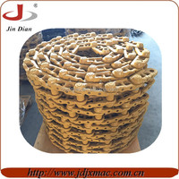 construction machinery parts bulldozer excavator undercarriage parts track links track chain