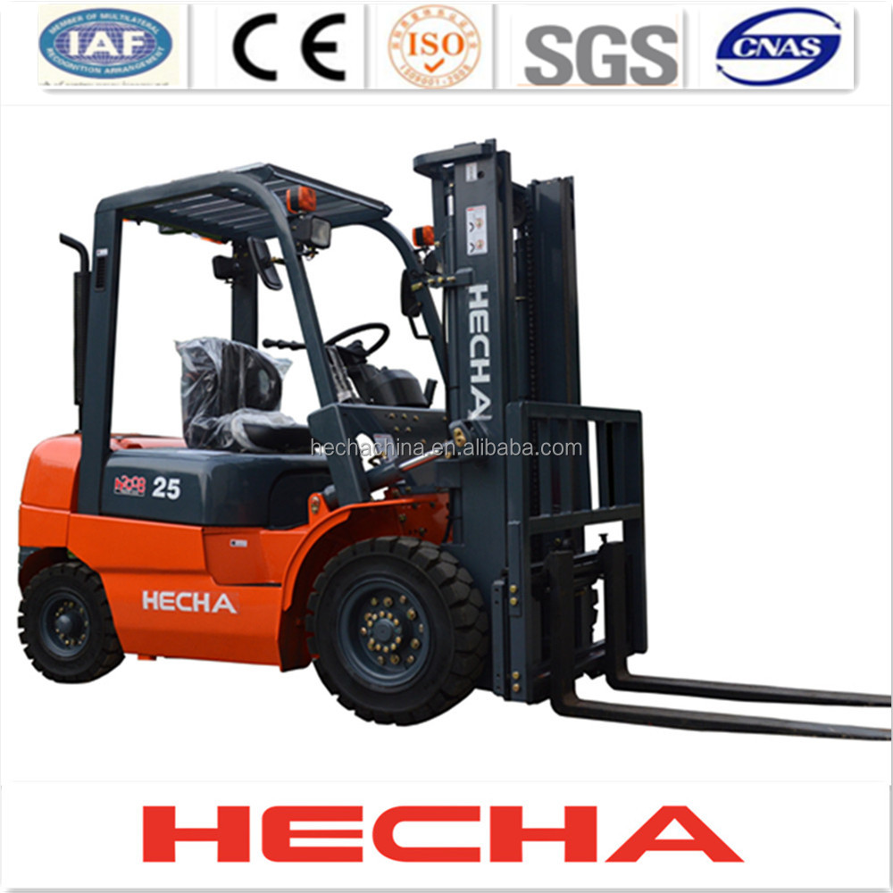 heli fork lift 2.5 ton,diesel Forklift truck CPCD 25 with Japan ISUZU engine