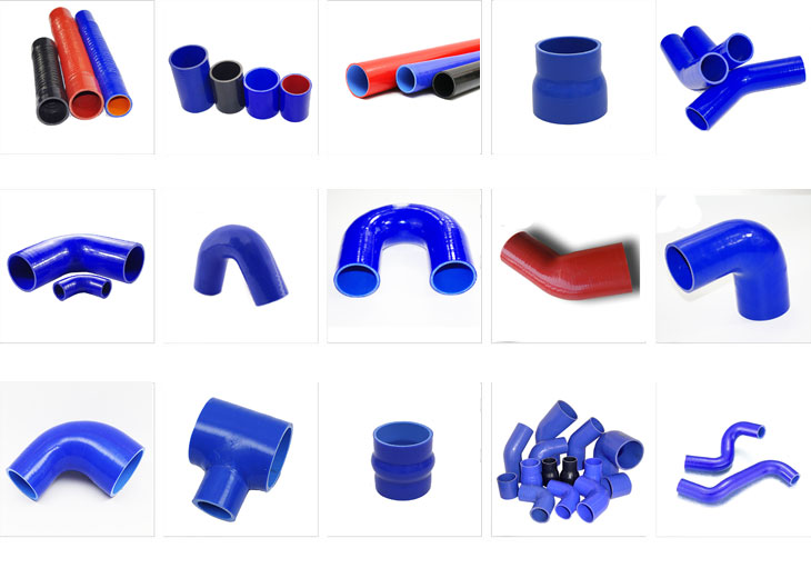 High temp straight radiator silicone fuel hose manufacturers
