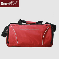 Hot sale fashionable 600D tote travel luggage bag