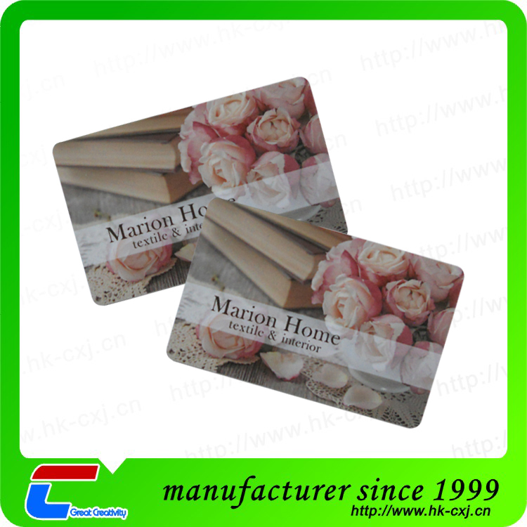 High Quality Custom Plastic Salon Membership Cards Manufacturer