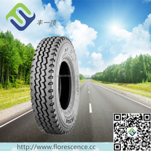 Tube tire 11.00R20 12.00R20 with three line pattern