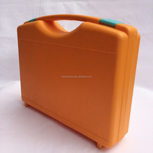 hard plastic tool case for precision instrument with customized foam