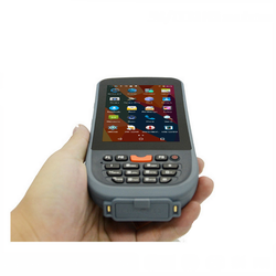 4G Wifi Bluetooth Handheld 1D 2D Laser Barcode Scanner Android Qr Bar Code Reader with Honeywell or Symbol Modules