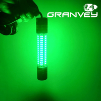 12V 24V 5M Underwater White Green CE ROHS FCC 8W IP68 fishing rod led light