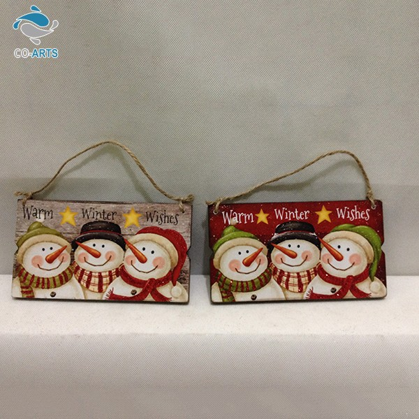 China manufacture outlet various lovely pattern three snowmen smile expression christmas 2015
