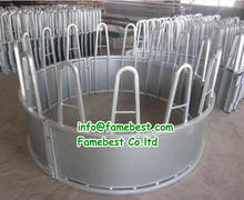 Hay Saver Cattle Round Bale/Large Square Bale Cattle Hay Feeder