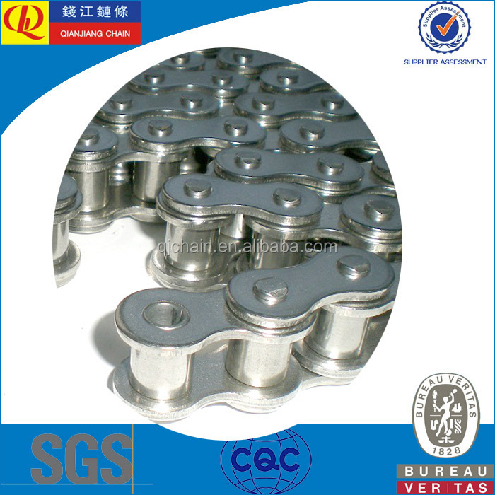 Short Pitch Precision Stainless Steel Roller Chain 60SS