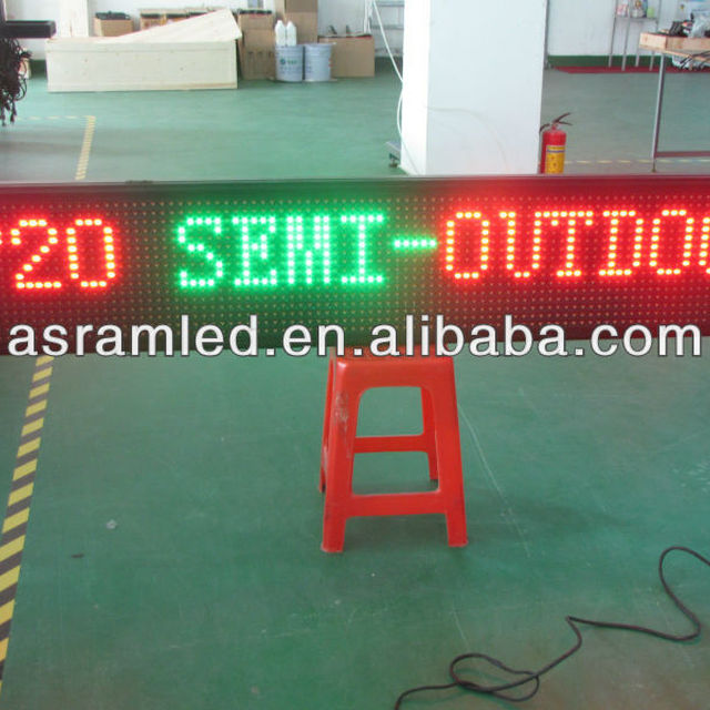 wholesale alibaba express cheap outdoor flexible programmable scrolling text led logo sign