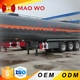 Customer requirement dimension 3 axle oil tanker truck for sale