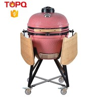 Powder Coated BBQ Grill Wood Pellet Fish Smoker
