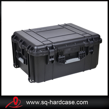 Hard ABS Plastic Box Plastic Trolley Tool Case With Wheeles