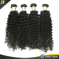 Indian Human Hair 8A Free Shipping Virgin Remy Curly Fusion Extension